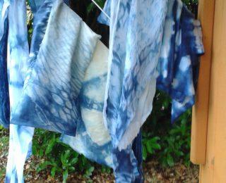 Indigo Dye day.